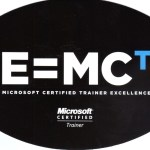 On this day: 9 jaar Microsoft Certified Trainer