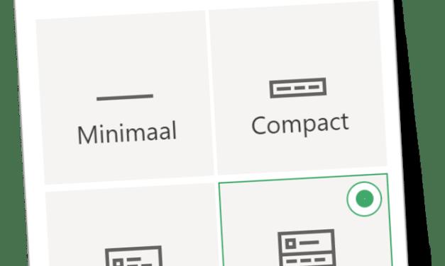 Nieuwe indelingen voor Site Header in SharePoint Online
