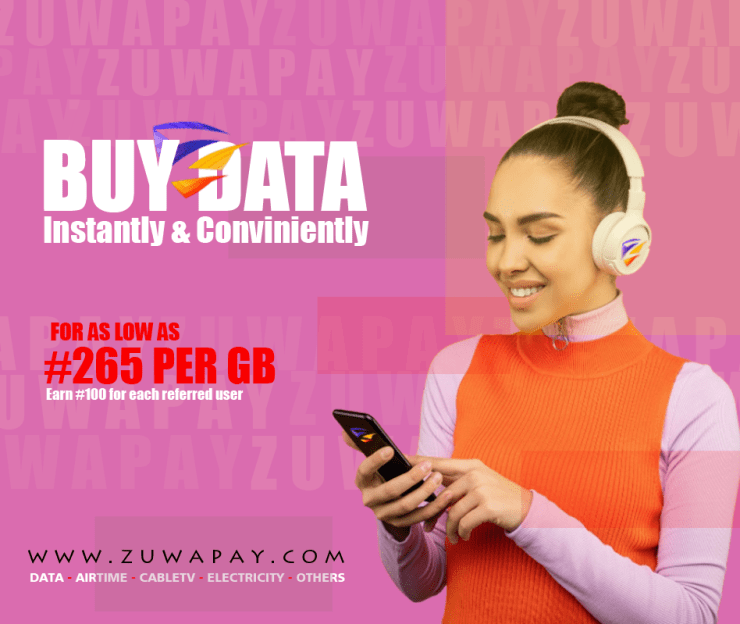 ZuwaPay - The All-in-one platform to buy airtime and internet data