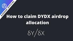 Dydx Token Claim