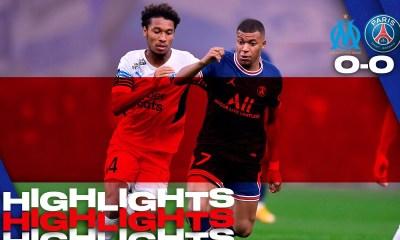 Marseille Vs PSG 0-0 Highlights Download