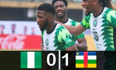 Nigeria Vs Central Africa Republic 0-1 - Highlights
