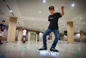 Singapore skater