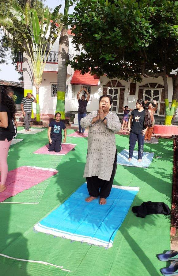 रायपुर : राज्यपाल ने अंतर्राष्ट्रीय योग दिवस की दी शुभकामनाएं