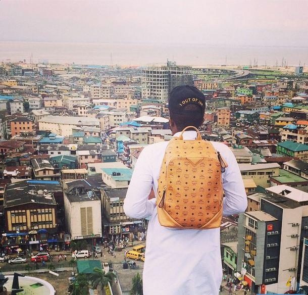 Check Out Ice Prince's Super Cool Bird's Eye View of Lagos | Photos 1
