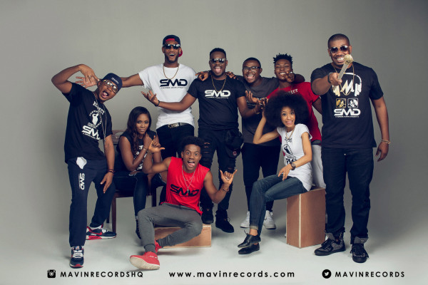Mavin Records Dr Sid, Tiwa Savage, Don Jazzy, Di'Ja, Altims, Baby Fresh, Korede Bello, Reekado Banks 36NG 2