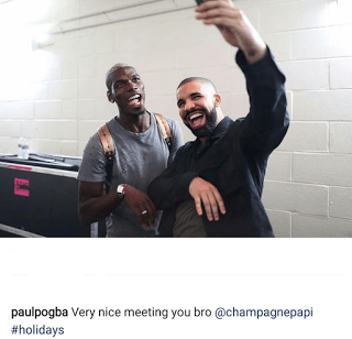 Football Star, Paul Pogba & Drake Party Together (Photos) (2)