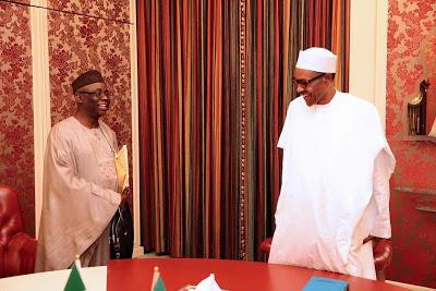 President Buhari Hosts Pastor Tunde Bakare (Photos) (1)