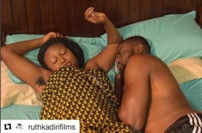 Ruth Kadiri's Bushy Armpit Causes Commotion on Instagram