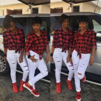 Iyabo Ojo's Daughter, Priscilla's First Day at the University | Photos