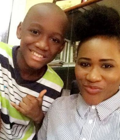 nino1 - ENTERTAINMENT: 2Baba's First Son Nino Idibia Shares Lovely Photo With His Mom