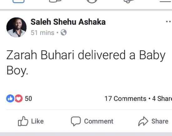 Candy TV -  Online Entertainment Tv President Buhari's Daughter Gives Birth To A Bouncing Baby Boy!