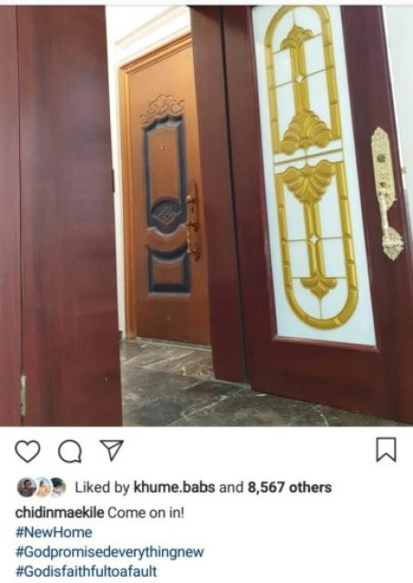 Chidinma Ekile Becomes a Home Owner!