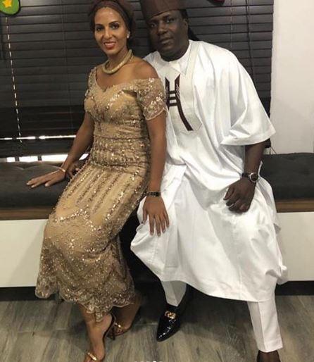 tania omotayo lola oj others turn up for adekunle gold simis wedding