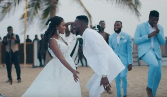 Image result for simi and adekunle gold wedding