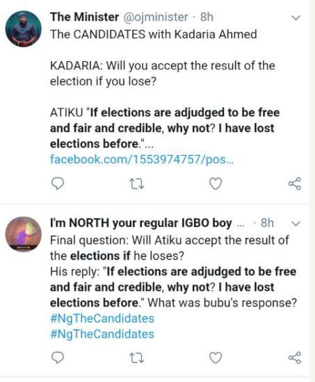 Atiku Reveals What He'll Do If He Loses Election