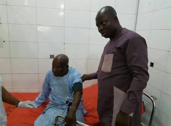 Baba Suwe: Actor Admitted To LUTH (Photo)