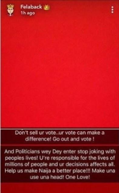 Wizkid Speaks Ahead Of 2019 Elections