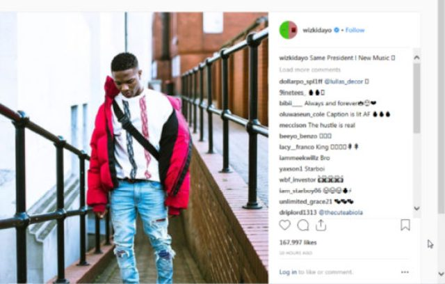 Wizkid receives a welcome back name trend #ReturnOfStarboy
