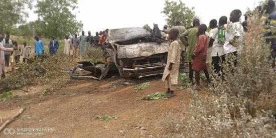 19 People Perish In Ghastly Jigawa Auto Crash (Photos)