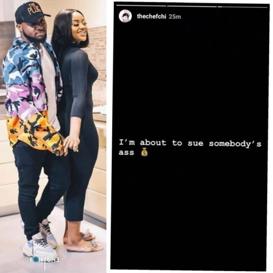Ubi Franklin Dupes Davido And His Girlfriend Of Millions, Chioma Set To Sue