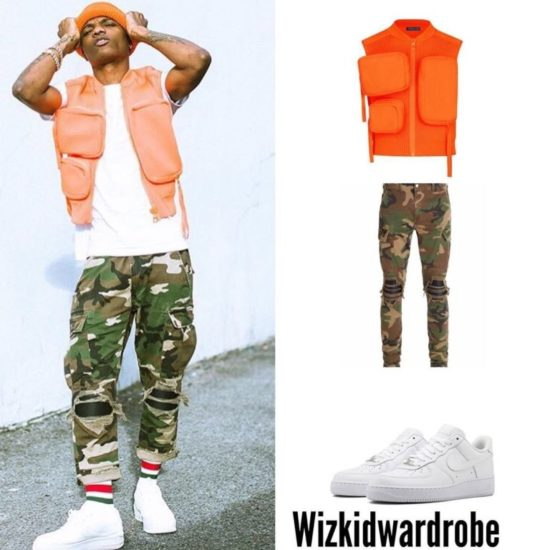 Wizkid's Louis Vuitton Jacket Becomes The Most Talked About Online