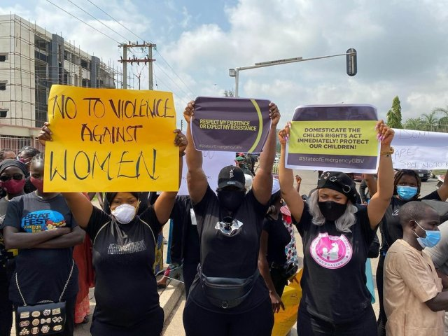 Protesters March Against Sexual & Gender-Based Violence in Lagos & Abuja 5