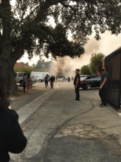 Plane crash kills 2persons in Los Angeles 4