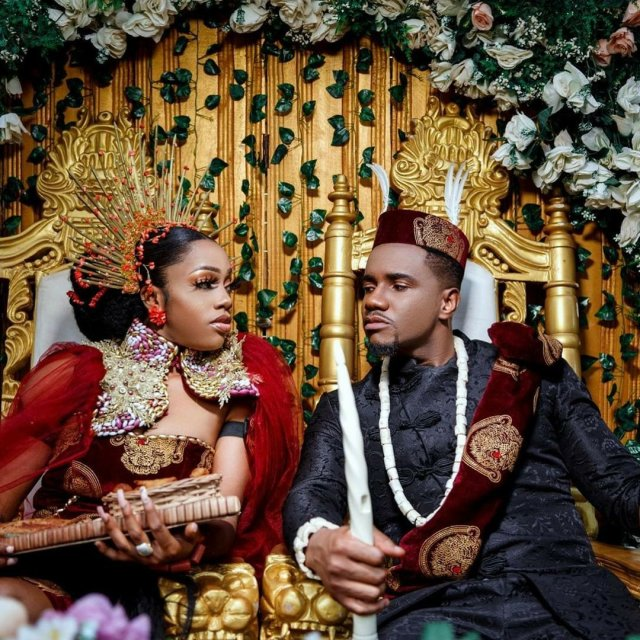 Photos: Living in Bondage actor, Jidekene Achufusi is now married 1