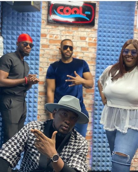Photos from Kiddwaya and Prince' media tour in Lagos 2