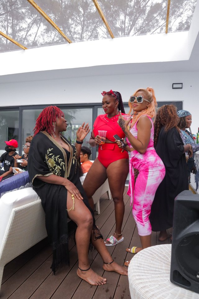 Check Out Photos of your Faves at Waje's 40th Birthday Beach Bash 26