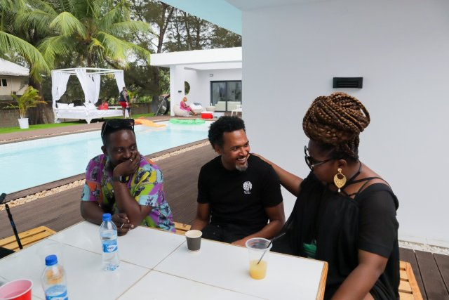 Check Out Photos of your Faves at Waje's 40th Birthday Beach Bash 4