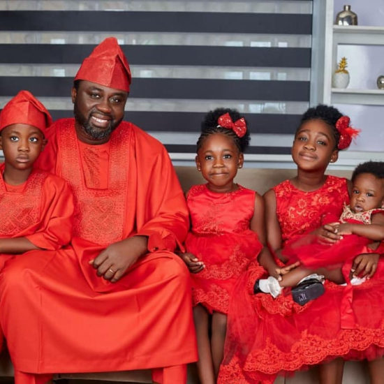 Beautiful photos of Mercy Johnson-Okojie and family from the dedication their fourth child in church (photos) 2