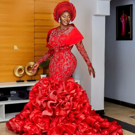 Beautiful photos of Mercy Johnson-Okojie and family from the dedication their fourth child in church (photos) 5