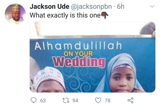 Elderly Man Weds Little Girl In Northern Nigeria (Photo) 4