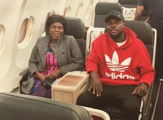 Super Eagles star, John Ogu looses Mum; Mourns her on Twitter 1