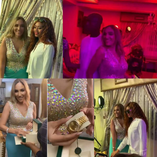 Photos from the 30th birthday celebration of billionaire businessman Ned Nwoko's Moroccan wife, Laila 1