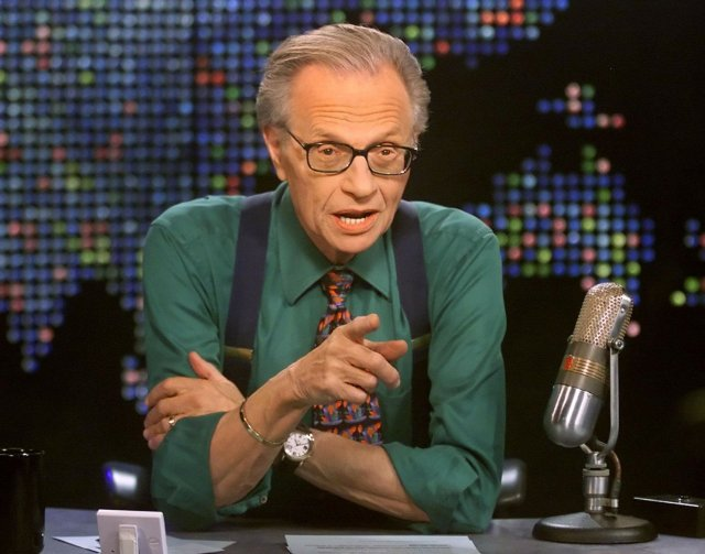 Larry King, television and radio journalism royalty, dies at 87 1