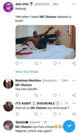 MC Oluomo's Book Goes Viral (Photos) 4