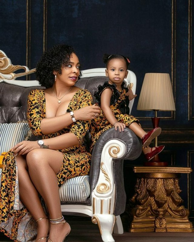 These Photos of TBoss Twinning with Her Daughter Starr Will Make You Smile 1