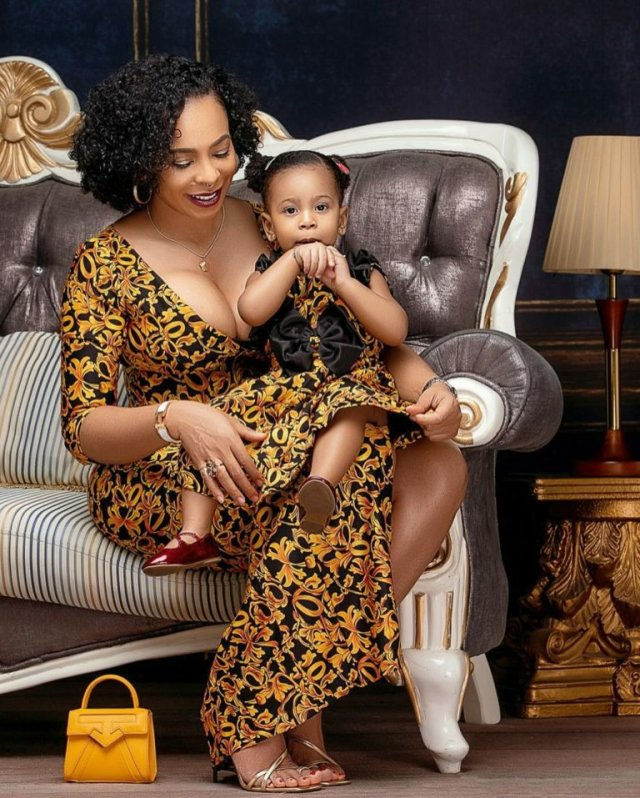 These Photos of TBoss Twinning with Her Daughter Starr Will Make You Smile 3