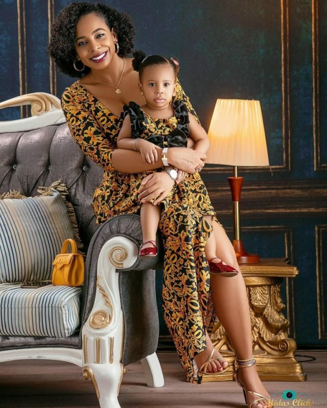 These Photos of TBoss Twinning with Her Daughter Starr Will Make You Smile 4