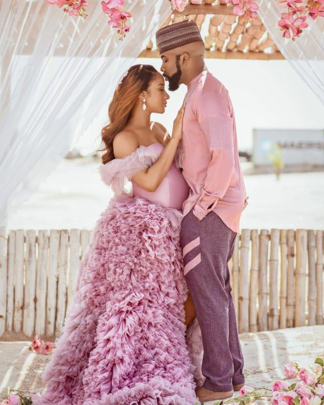It's a Boy! Banky W and Adesua Etomi announces the birth of their First Child 7