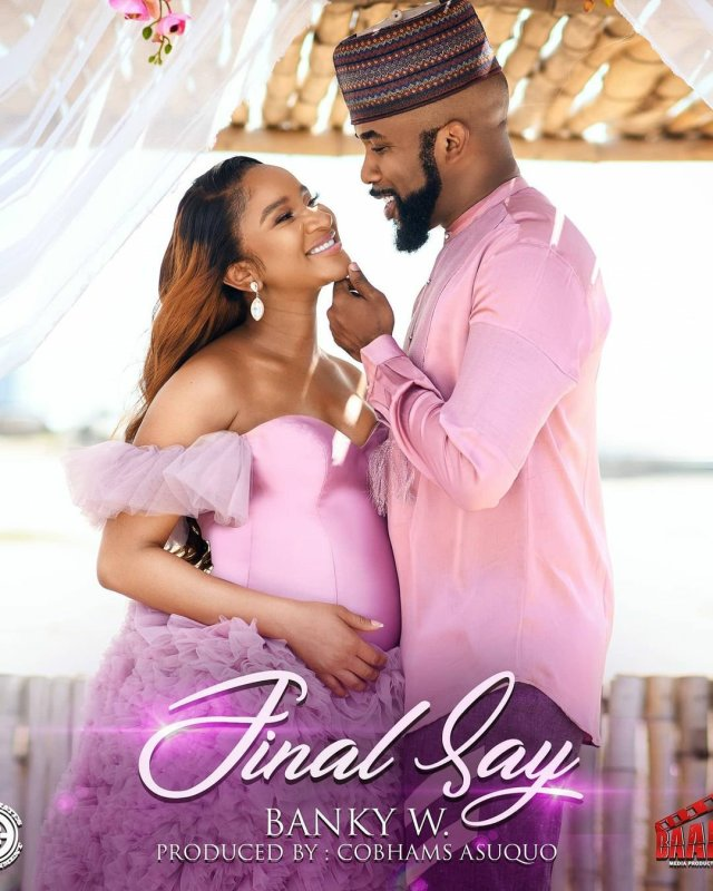 It's a Boy! Banky W and Adesua Etomi announces the birth of their First Child 8