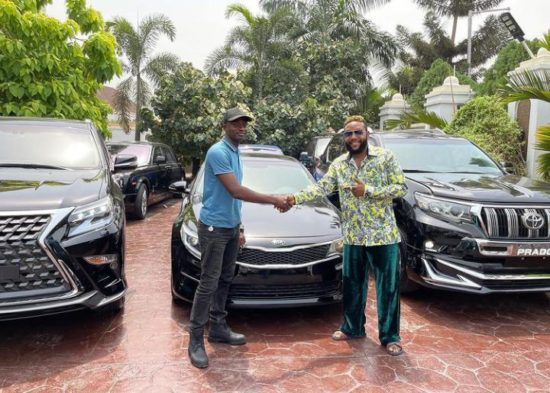 E-Money gifts luxury cars to people on his 40th birthday (Photos) 4