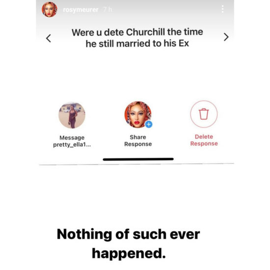 Rosy Meurer reveals Tonto Dikeh's ex-husband, Olakunle Churchill, proposed to her two years ago 5