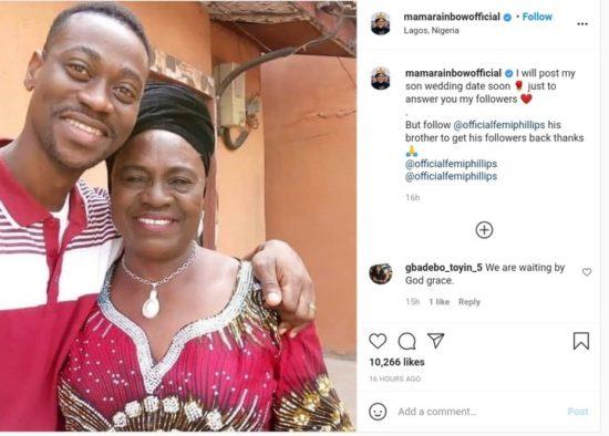 I Will Post Lateef Adedimeji's Wedding Date Soon – Iya Rainbow 2