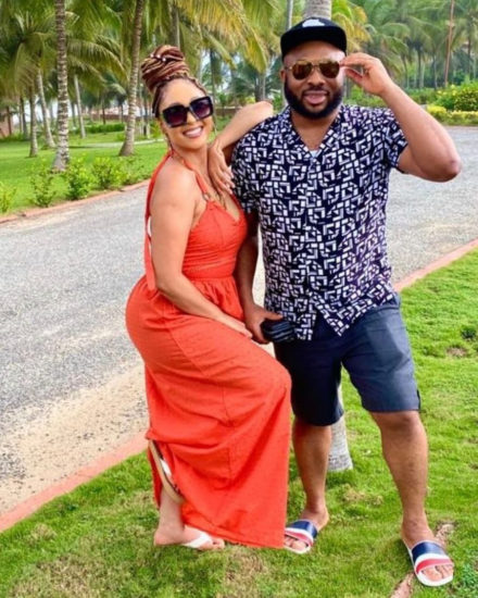 Olakunle Churchill and new wife, Rosy Meurer continue to pepper social media with loved up photos 2