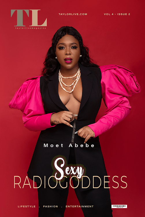 Moet Abebe is Serving Major Looks on Taylor Live Magazine's Latest Cover 1