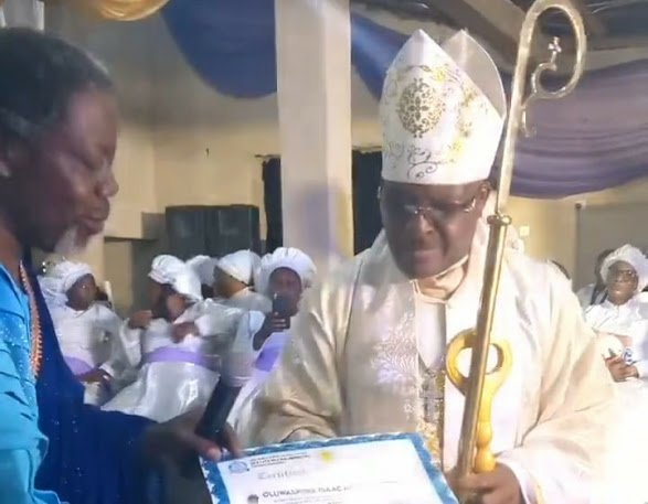 Musician Sir Shina Peters Ordained Bishop 2
